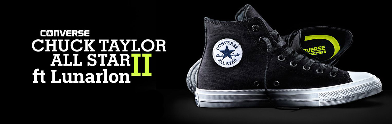 Converse Chuck Taylor ALL Star II ft Lunarlon