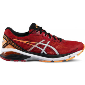 Asics GT 1000 5 Mens Running Shoes - Red T6A3N 2393_0