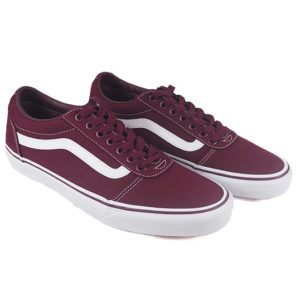 zapatillas-vans-ward-canvas-vn0a38dm8j71-burdeos