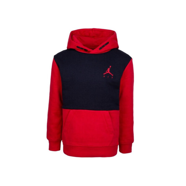 sweat-a-capuche-jordan-jumpman-air-fleece-rouge-pour-junior