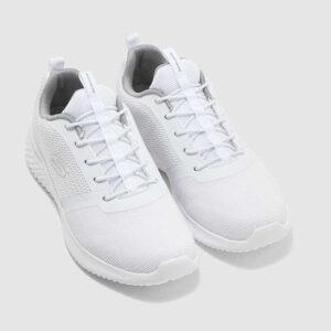 Αθλητικό-Υφασμάτινο-Sneaker-Skechers-52504-Λευκό